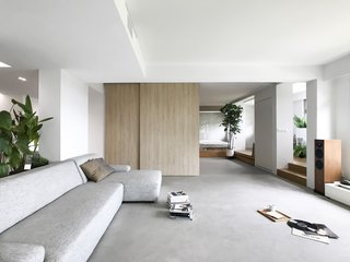 A Japanese-Inspired Flat in Singapore Embraces Flexible Spaces - Photo 8 of 11 -