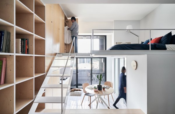 A Tiny Taipei Apartment Pursues Muji-Like Minimalism For $35K