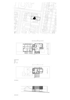 A look at the site plan, two floor plans, and the elevation.