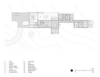 Here is the Hill Country House floor plan.