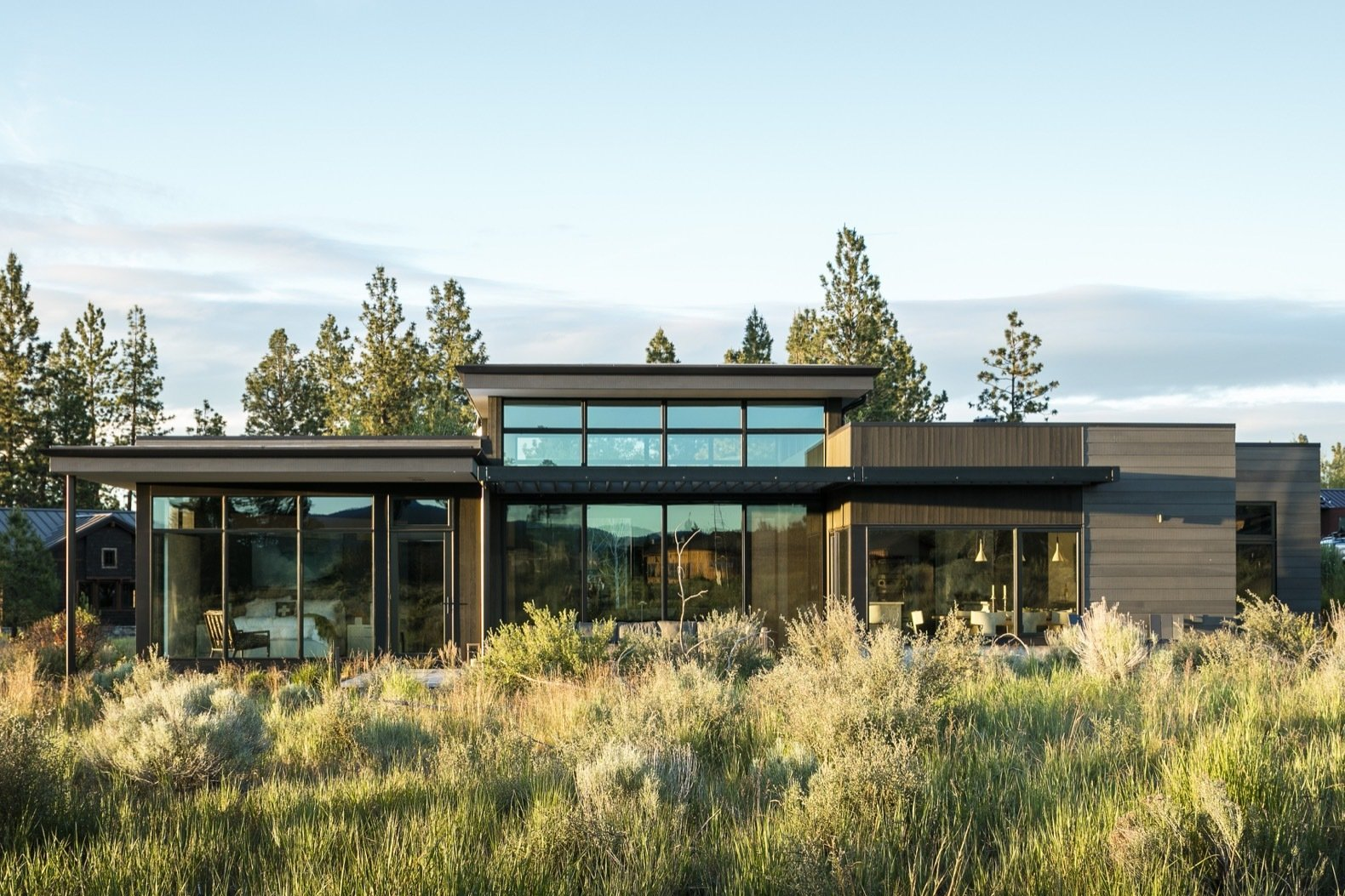 A High Desert Home Slides Open Like a Swiss Army Knife