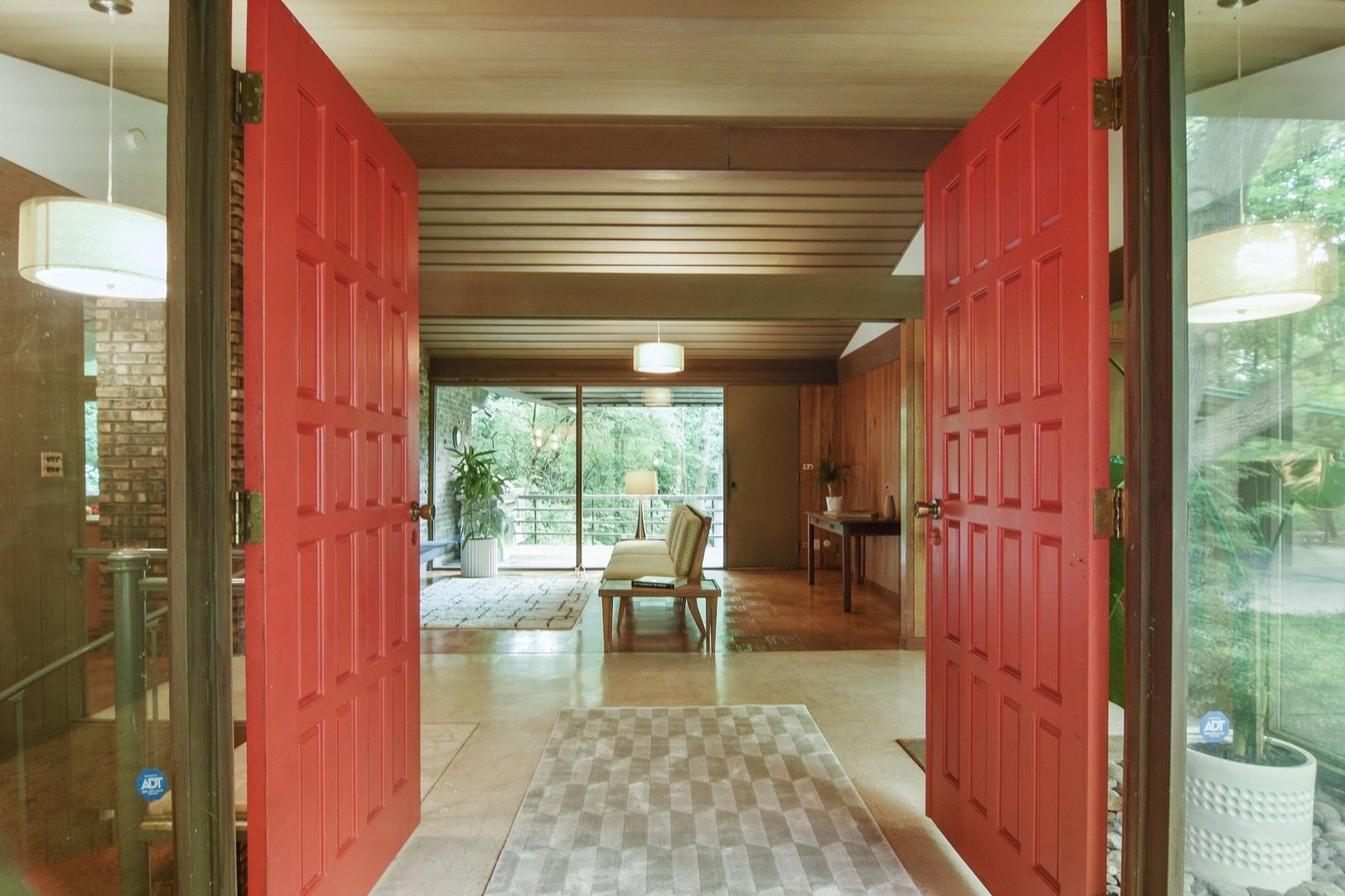 Photo 2 Of 18 In A Frank Lloyd Wright Inspired Home Near Chicago