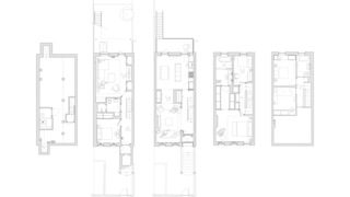 A look at the Park Slope townhouse floor plans.