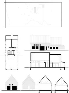The architectural drawings of House for Beth.