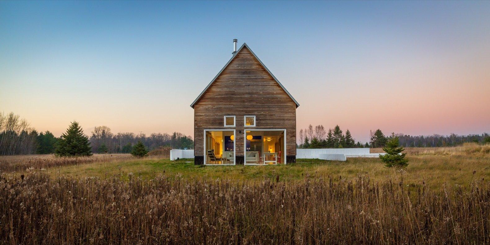 A Light-Filled Modern Farmhouse Is Built For $240K
