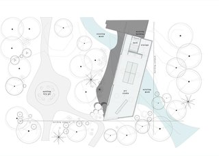 The Little Art Studio floor plan.