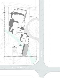 The Little Art Studio site plan.