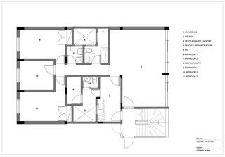 Tucumã Apartment Original Floor Plan.
