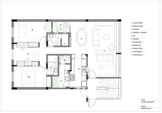 Tucumã Apartment Floor Plan.