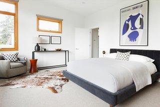 All four bedrooms feature 100 percent wool carpet floors from Unique Carpets Bolero II.