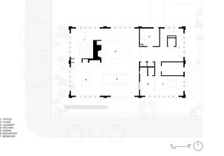 The Division Street Residence Floor Plan.