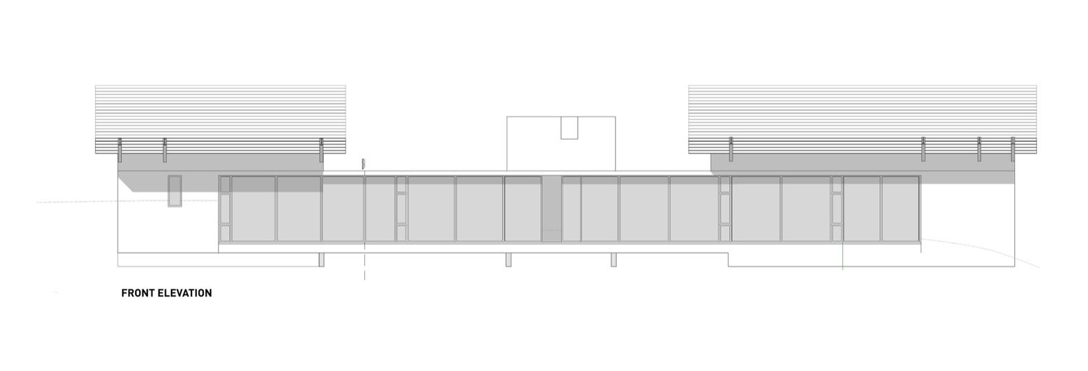 La Cabañita front elevation.  Photo 14 of 15 in A Small Guatemalan Hut Gains a Thoughtful Glazed Expansion