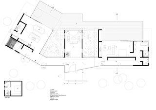 La Cabañita Floor Plan.