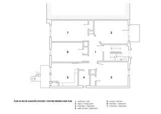 Former Ground Floor Plan