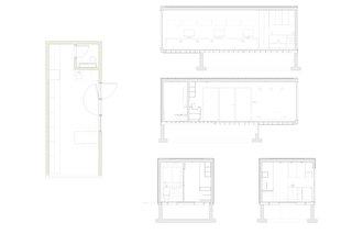 RBA Studio Floor Plan and Sections