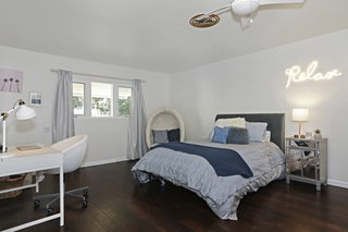The former master bedroom was turned into a room for Carolla's daughter.