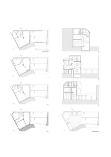 Kartasan House floor plans and sections