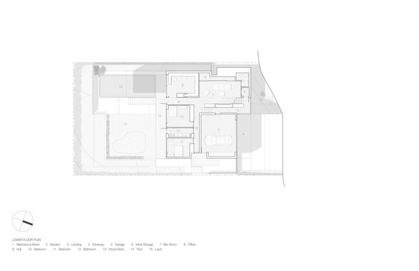 Container House lower floor plan.