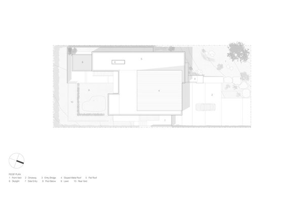 Container House roof plan.