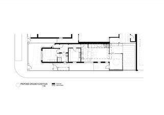 The Shadow House ground floor plan