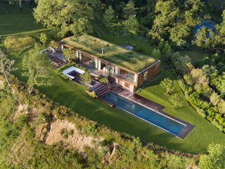 This Hamptons Getaway Blends Seamlessly Into a Lush Landscape