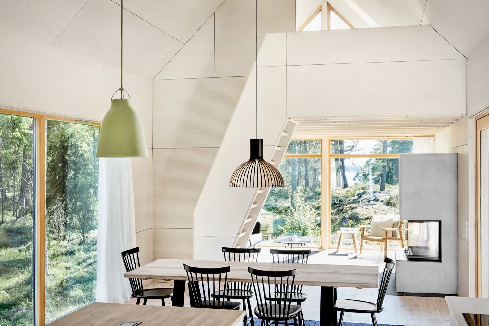 An Inspiring Island Retreat Mixes Scandinavian Style With Japanese Simplicity