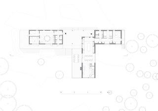 Summer house in the Stockholm archipelago floor plan.