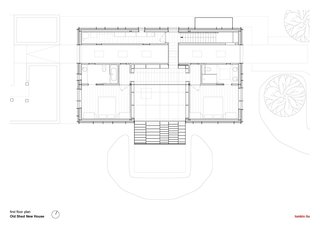 Old Shed New House first floor plan