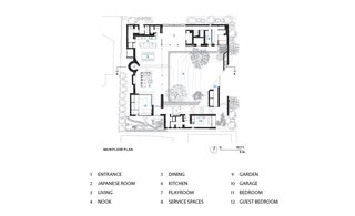 Lath House ground floor plan