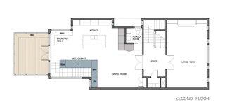 Megacabinet House second floor plan