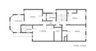 Megacabinet House third floor plan