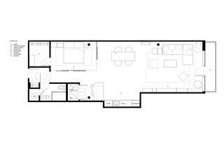 West Loop Loft floor plan