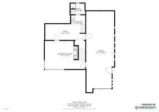First story floor plan.