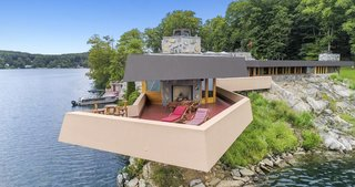 When Wright created the initial sketches for the property at 83, he had hoped the house would surpass Fallingwater.