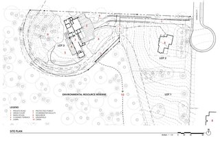 Wildwood House site plan