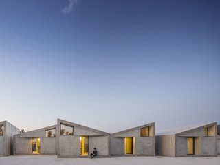 Six Prefab Concrete Cabins Pop Up in the Foothills of Portugal