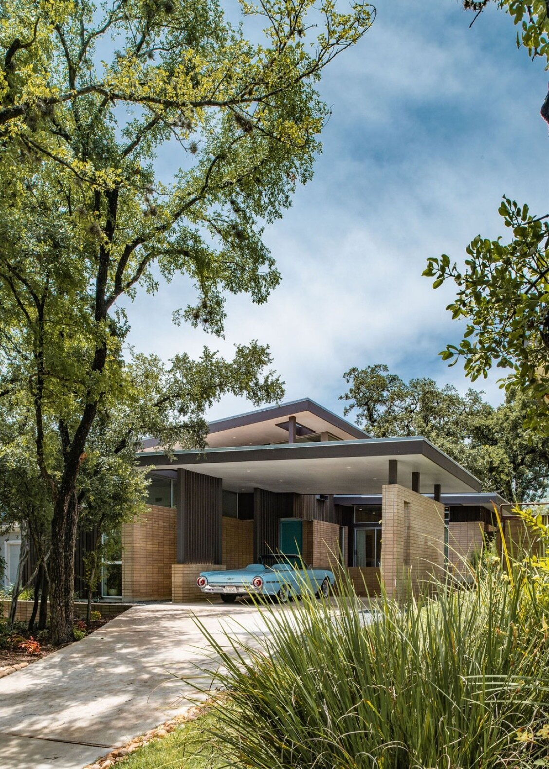 Exterior and House Building Type  Photo 4 of 9 in 9 Stunning New Homes in Austin Will Open Their Doors for a Virtual Tour