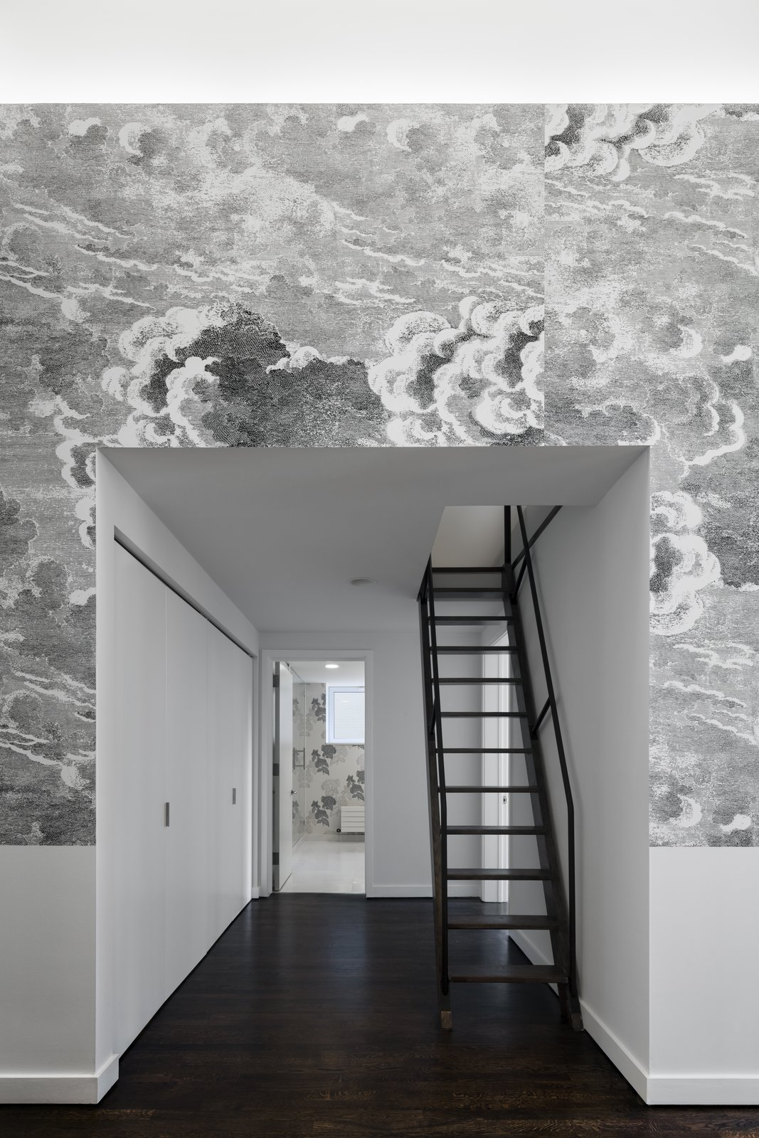 Staircase  Broome Street Loft by Verona Carpenter Architects