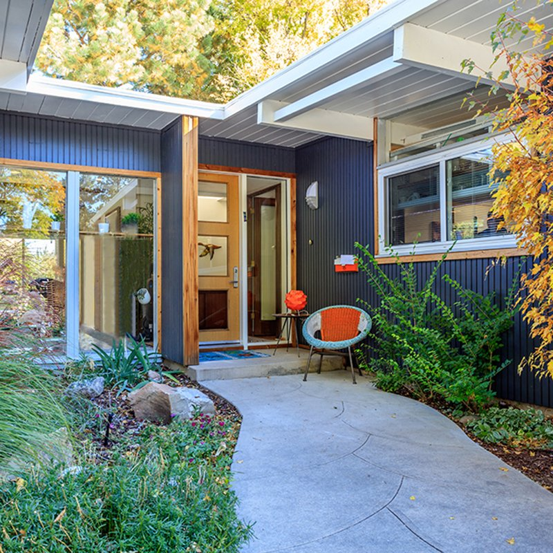 Mid Century Modern Ranch In Denver S Sought After Krisana