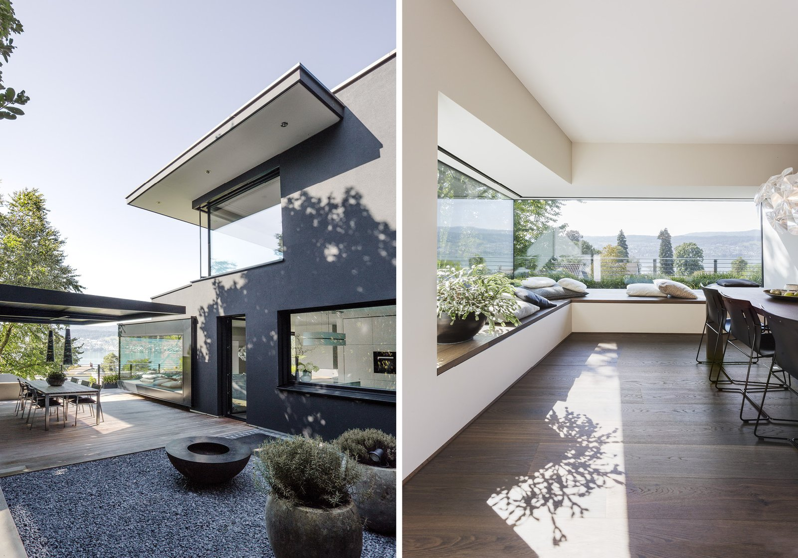 Outdoor, Wood Patio, Porch, Deck, and Stone Patio, Porch, Deck  Object 336 - beautiful blackbox by meier architekten zurich