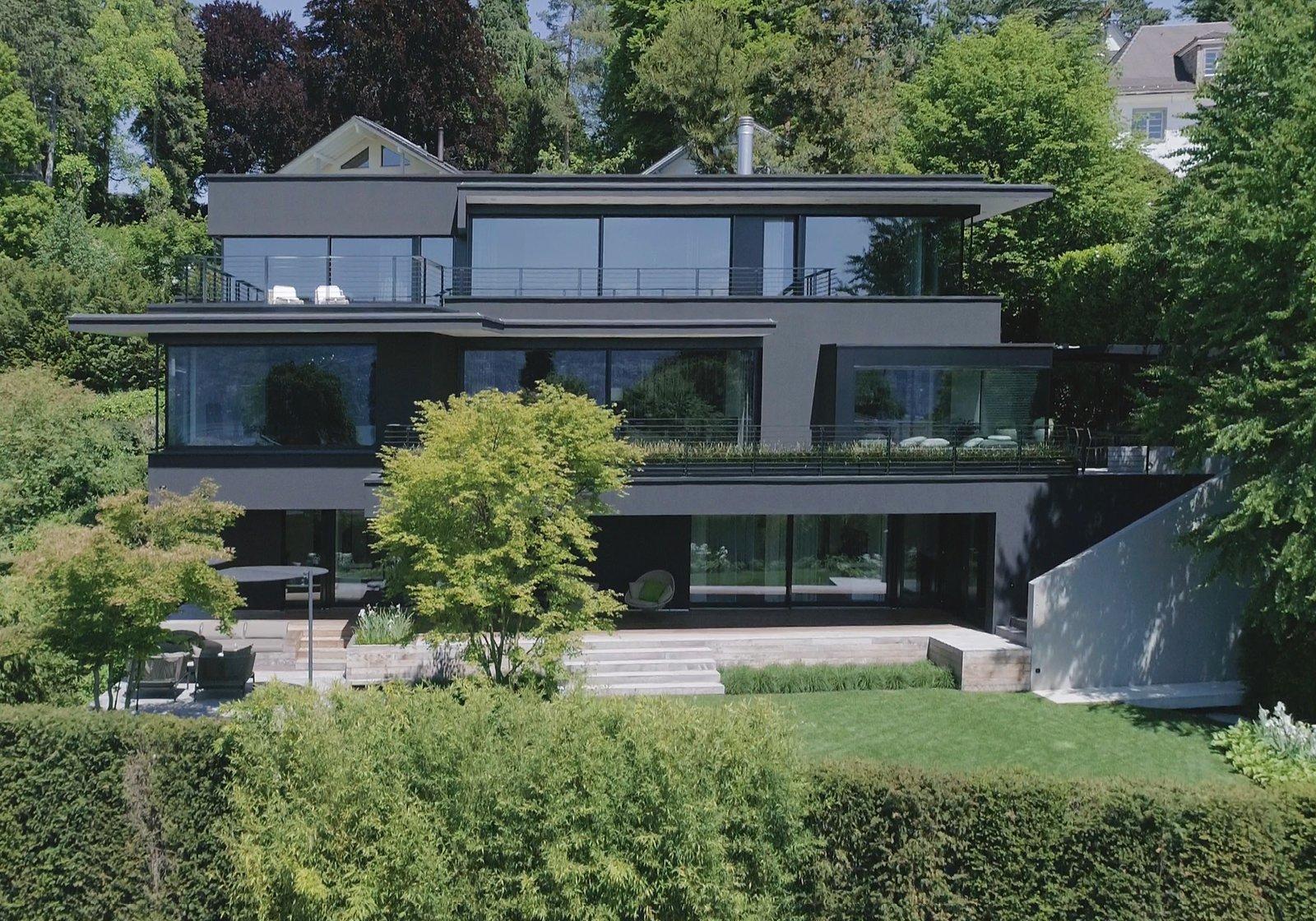 Exterior and House Building Type  Object 336 - beautiful blackbox by meier architekten zurich
