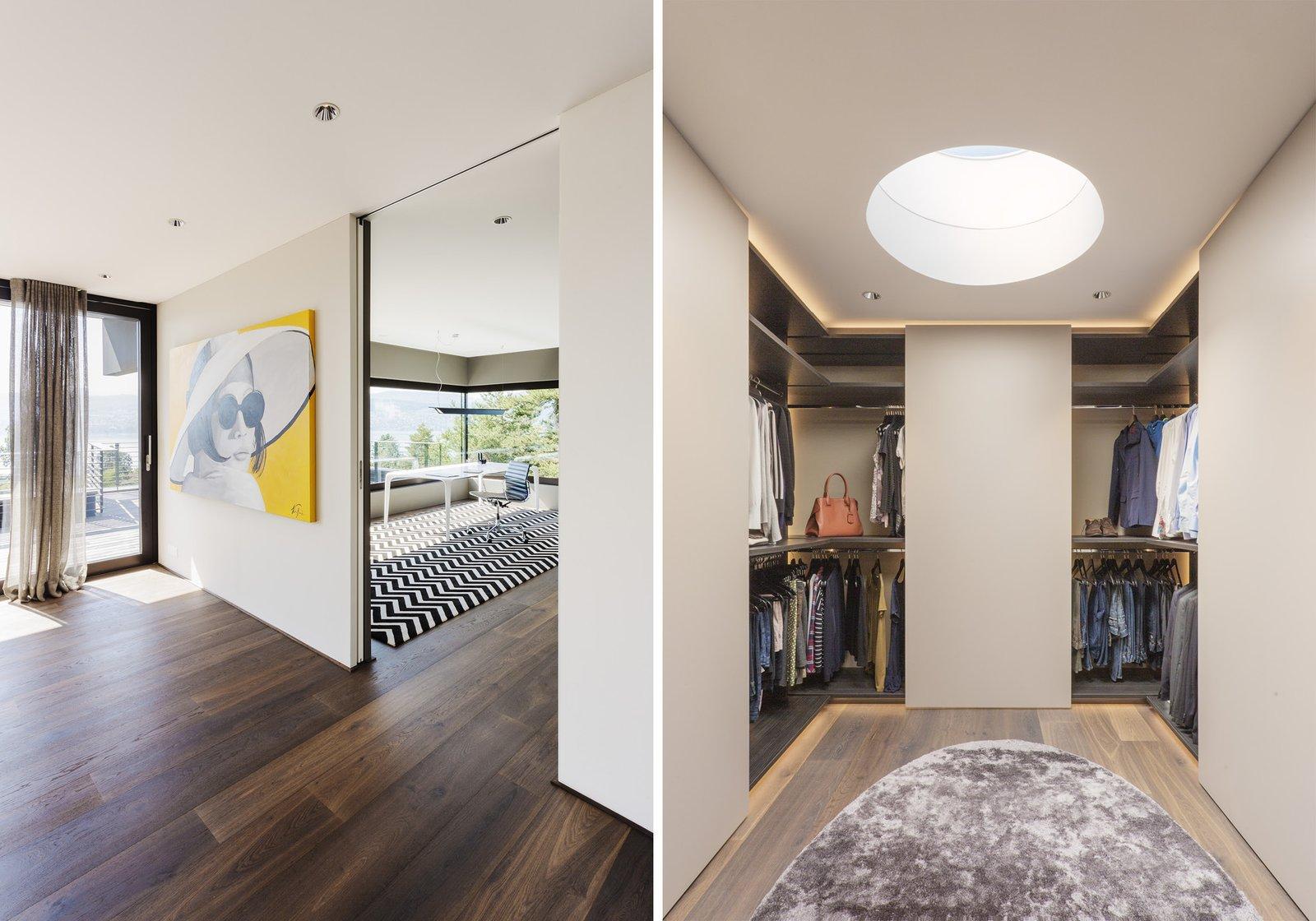 Hallway and Medium Hardwood Floor  Object 336 - beautiful blackbox by meier architekten zurich