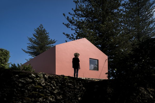Outdoor  Pink House