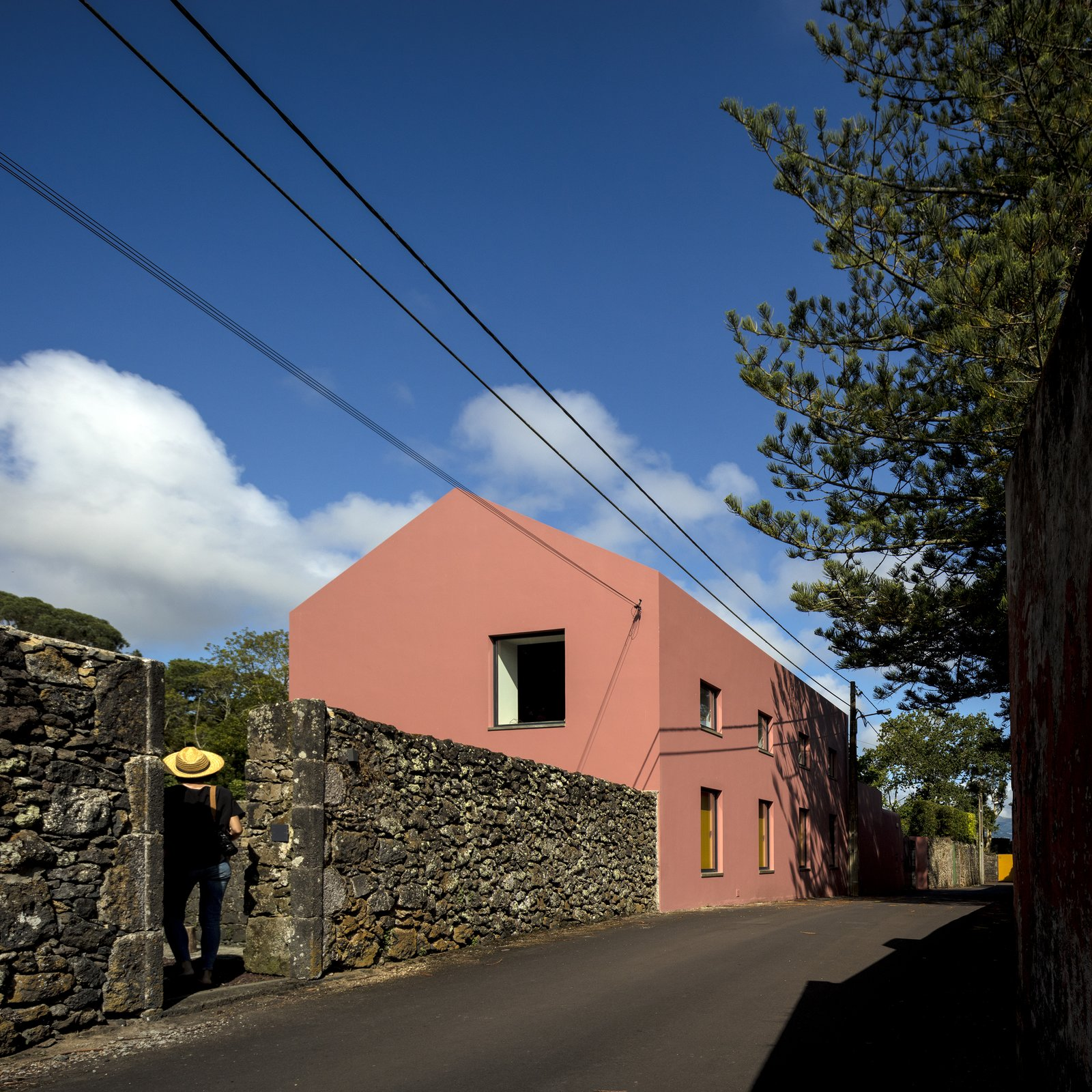 Tagged: Exterior and House.  Pink House