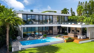 This Miami Beach estate with a $500K Fendi kitchen just sold for $20.5M