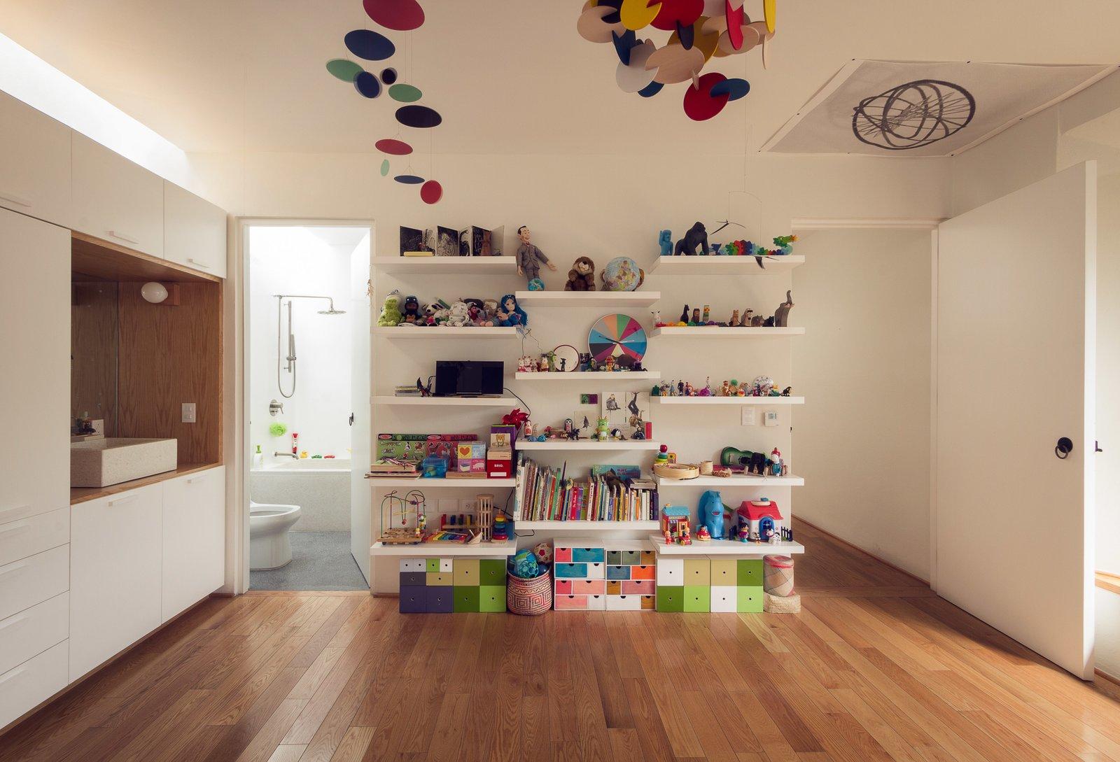 Kids Room, Playroom Room Type, and Bookcase  Veramendi House