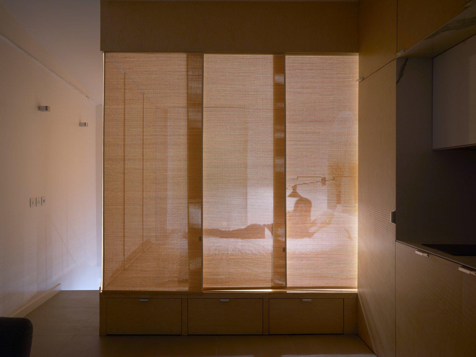 Doors, Interior, Wood, and Sliding Door Type  Urban Cocoon in Paris by Nathalie Eldan Architecture
