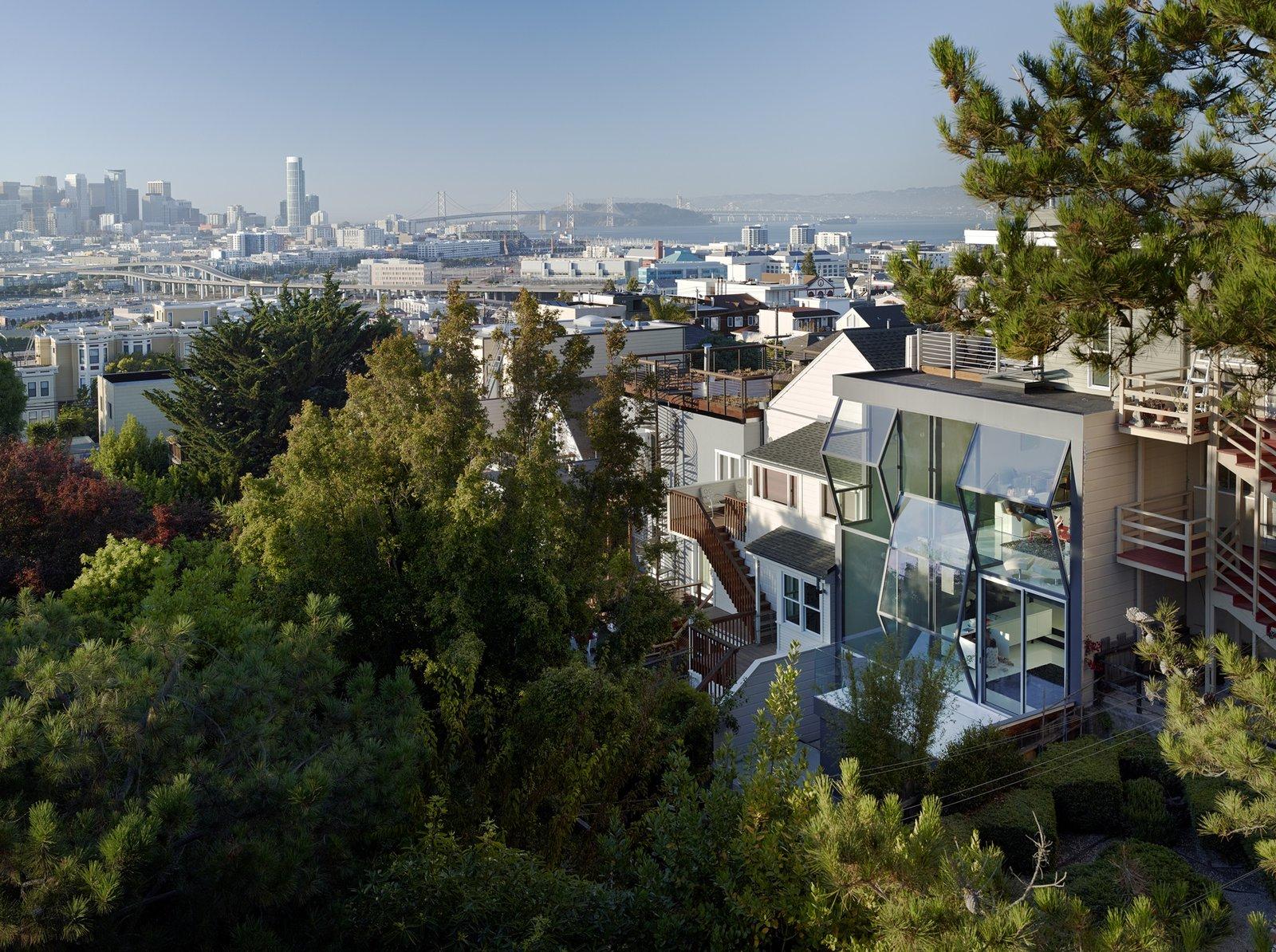 Exterior, Tile, Flat, House, Metal, and Glass  Best Exterior Tile Metal Photos
