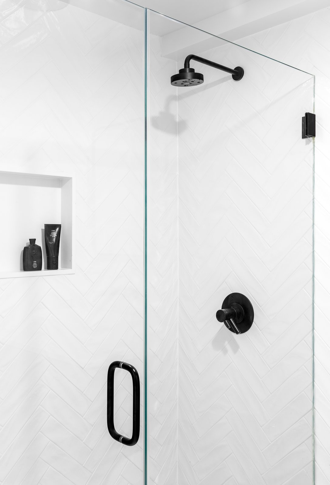 Bath Room, Ceramic Tile Wall, Full Shower, and Enclosed Shower  Boerum Hill Brownstone