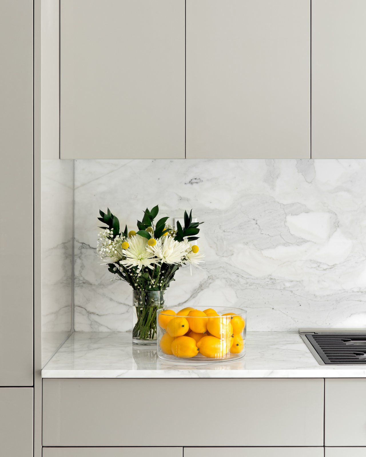 Kitchen, Stone Slab, Colorful, Marble, and Stone  Best Kitchen Marble Stone Slab Photos from Boerum Hill Brownstone